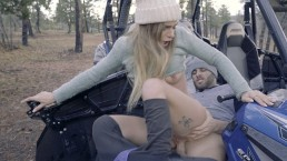 Sydney Cole Outdoor Fuck Turns To Hot Orgy Rally Race #2