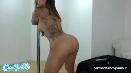 Daisy Marie sexy big tits Latina dancing and masturbating till orgasm.