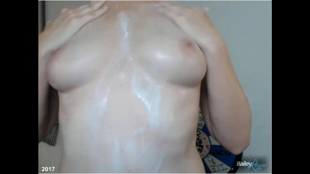 Live Lotion and Breast Massage Show 6