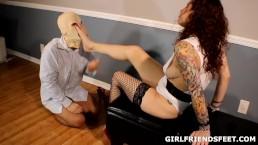 Femdom Foot Worship: Bitch Goddess