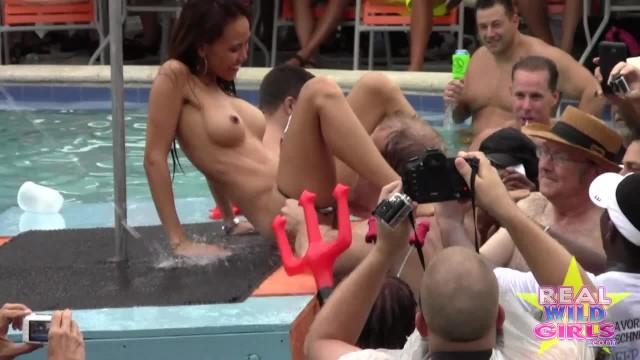 Big boobs wet t-shirt - Insane wet-t naked sluts key west final round