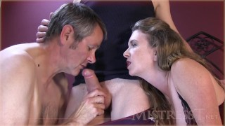 cock sucking creampie cleaning cuckold hubby Cumshot orgy