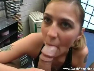 A Horny MILF Came To Fuck
