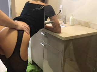 Preview 4 of Step brother take sister in shower and cum on shes ass