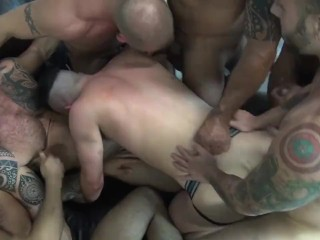 Alex's Birthday Gangbang