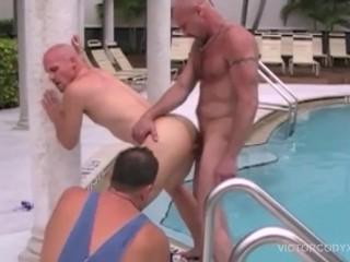 Chad Brock Barebacks Cole Sexton