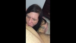 Cam girl Lori Meyers gives me a blowjob