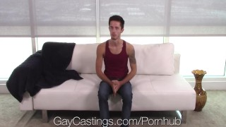 Bryce fucked gaycastings agent newbie by casting acton audition gay