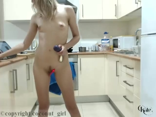 Perfect Naked Body. Let's Play Toys!