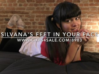 Silvana's Feet in Your Face - www.c4s.com/8983/18290884