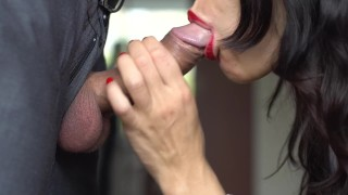 Veronika blowjob by charm skilled cocksucker beautiful huge 4k