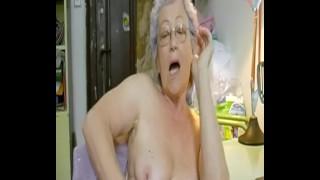 Hairy Granny Solo