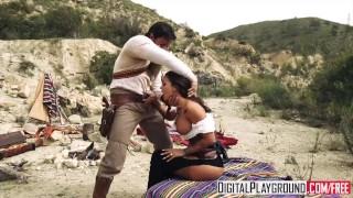 DigitalPlayground - Rawhide Scene 3 Susy Gala and Nick Moreno Tits ass