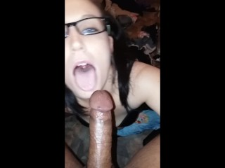 Dirty Maid Cleans Big Cock