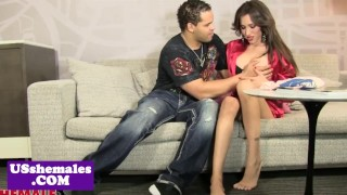 Bigtitted trap amateur gets anally pounded