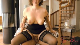 Licking and fucking my dirty MILF Pussy
