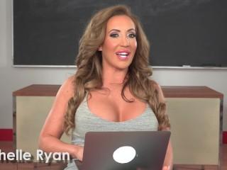 Richelle ryan watches her own porn...