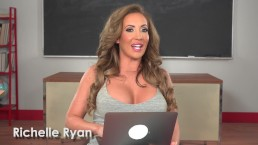Porn Star Richelle Ryan Watches Her Own Porn