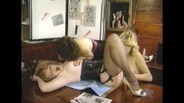 Huge boobed MILF in lesbian threeway