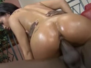Big assed chick takes it all...