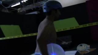 On the Porn Set of Tron Porn Parody Part 1