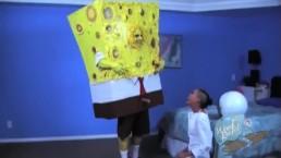 Op de pornoset SpongeKnob-vierkant Nuts # 1