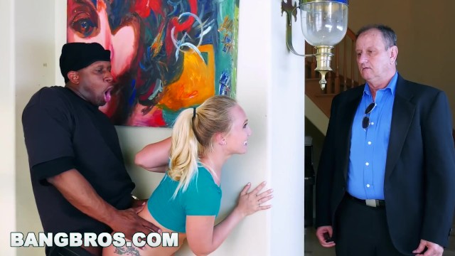 Ass parade back in ass - Bangbros - strong arming aj applegates tight pussy behind bfs back