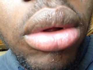 My mouth you would kiss.