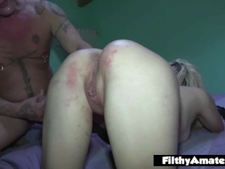 The Teen and the Rasta! Nasty Double Penetration!