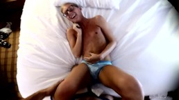 Evan Stone endures an extreme tickle session from Jacobey London