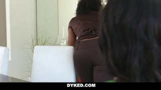 Dyked - Sexy Chanel Heart Seduced & Fucked By Misty Stone