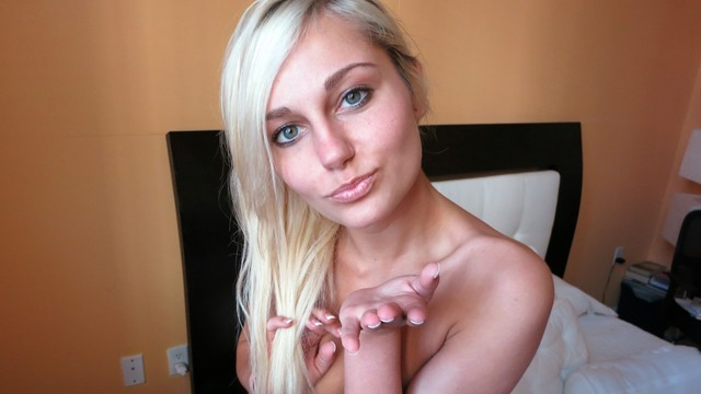 ShesNew - Cute Blonde Amateur Wants To Be A Pornstar