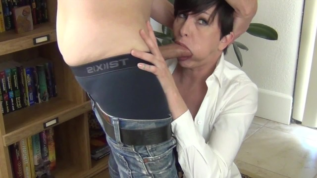 Sex teacher mrs valentino Facefucking the anger management counselor 2