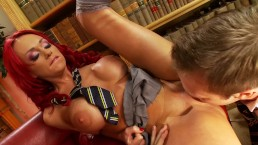 Big Tit Student PAIGE ASHLEY Fucks Her Big Dick Classmate