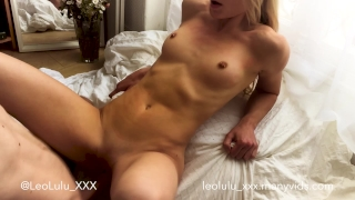 Lazy Sunday Morning Fuck - Amateur Couple LeoLulu