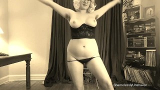 ShamelesslyUnshaven Vintage Hairy Striptease