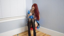 Kitty In Wonderland Solo Sample - Halloween2017- MissKittyMoon.ManyVids.com