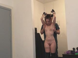 Cathy Crown Belgium Porn Star - Tickle Torture with her master