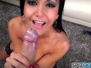 FirstClassPOV - Ava Addams suck a big dick, big boobs and big booty