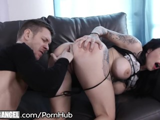 Harlow Harrison Licks up Squirt Juices from Intense Drilling!