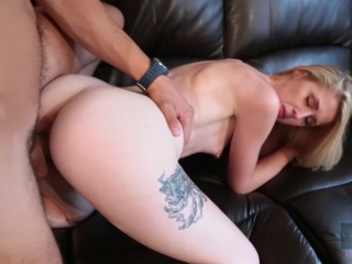 Hussie Auditions:18 YO Sexy Blonde Parker Banks in First and Only Sex Scene