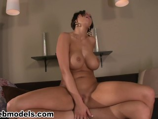 Big Tits MILF Cougar DYLAN RYDER Fucked for Huge Cum Load! A++