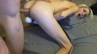 Double Blowjob Anal Fuck With Facial