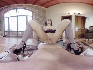 BaDoinkVR.com Fuck Latina Spex Teen Schoolgirl Carolina Abril In VR