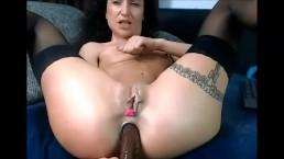 28 Oct 2017 - A huge black dildo in my anus