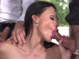 The Swinger Experience Presents Aletta Ocean Foursome – alettAOceanLive