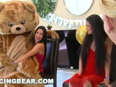 DANCING BEAR - Another CFNM Cock Patry With Crazy Girls Sucking Off Dudes