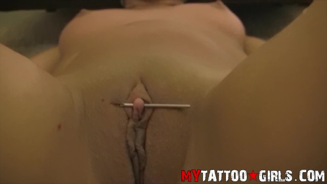 How big can a clit get Ninety nine getting her clit pierced