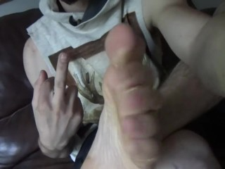 Showing You My Dirty Feet and Socks