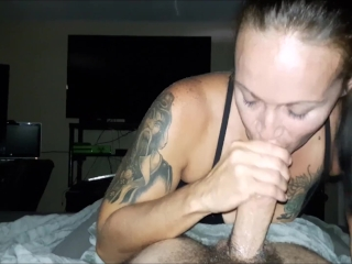 Don't You Wish Your Girlfriend Sucks Cock Like Me